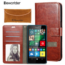 Photo Frame Wallet PU Leather Cases For Microsoft Lumia Nokia Lumia 520 535 540 550 630 640 650 Nokia 730 950 Cover Card Holder