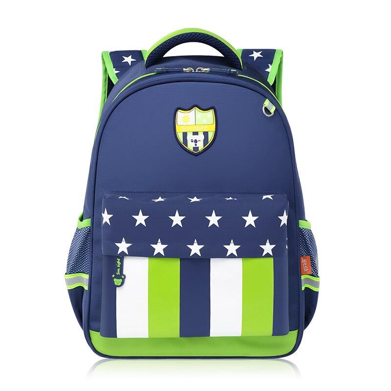 children backpacks school bag star stripe book bag sac a dos enfant brand backpack kids girl pink school pencil bag pen case<br>