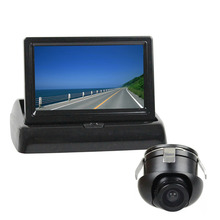 DIYKIT 4.3 Inch Car Reversing Camera Kit Back Up Car Monitor LCD Display + HD CCD Rear View Camera Back Up Cam