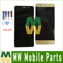 High Quality 1PC/Lot For Highscreen Power Rage EVO LCD Display+Touch Screen Assembly Digitizer Black White Gold Color with tools