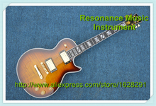100% Real Pictures Vintage Sunburst LP Supreme Electric Guitar Ebony Fretboard Left Handed Available