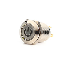 Durable 12V 2A LED Metal Power Momentary Push Button Switch Car DIY Modified
