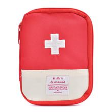 Blue And Red Color First Aid Kits Portable Outdoor Survival Disaster Earthquake Emergency Bags Vehicle Mounted Medical Package