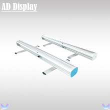 10PCS 80*200cm New Budget Model Aluminum Pull Up Retractable Banner Stand,Portable Advertising Roll Up Display(Only Stand)(China)
