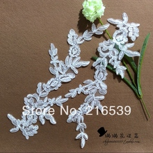 2016 new wedding dress trims hair accessory accessories milky white accessories mirror pair