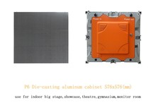 Best Indoor P6 LED Display Screen Light Die Casting Aluminum LED Cabinet 576*576mm with Indoor P6 LED Panel for Stage Screen