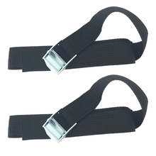 New 1-3M 25mm Width Nylon Pack Cam Tie Down Strap Lash Luggage Bag Belt Metal Buckle Hot Sell(China)