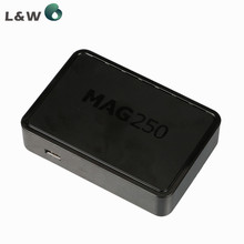 10pcs Linux mag250 IPTV box , Set Top Box support Wifi usb connector, Cable Not include IPTV account Mag 250 tv set top box