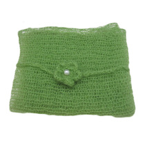 Soft Baby Newborn Infant Crochet Knit Mohair Wrap Cloth Photography Photo