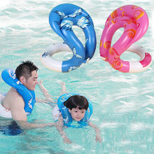 Baby Swim Ring Float Circle Kids Adults Life Vest Children Adult water toy Swimming Laps Inflatable Swim Arm Rings Pool Toys(China)