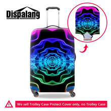 Ripple Spread Art Style Luggage Trolley Case Protective Covers Stretch Apply To 18 to 30 Inch Cases Suitcase Travel Accessories