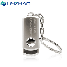 The Key Ring Metal usb flash drive mini high speed pen dirve usb 2.0 pendrive 4GB 8GB 16GB 32GB 64GB Memory Saver device