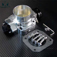 68mm Pro Series Throttle Body + TPS For Honda Civic D/B/H/F Series Engines Silver(China)