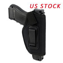 US Stock Concealed Belt Gun Holster IWB Holster for All Compact Subcompact Pistols Black(China)