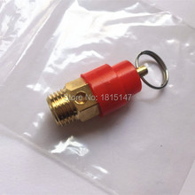 8bar 10bar 12.5bar pressure safety valve for air compressor, spare parts(China)