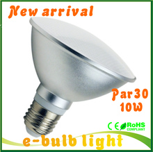 High bright bombilla LED Par30 bulbs E27 10W LED dimmable lamp par 30 downlight spot lights Umbrella bulblight 110V 220v(China)