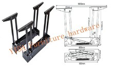furniture hardware . lift top mechanism for coffee table.Multi-function table accessories(China)