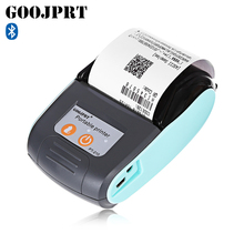 GOOJPRT PT - 210 58MM Bluetooth Thermal Printer Portable Wireless Receipt Machine for Windows Android iOS(China)