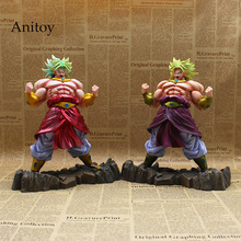 Dragon Ball KAI Broly Limited 2 Styles PVC Action Figures Collectible Model Toys 26cm KT3625(China)