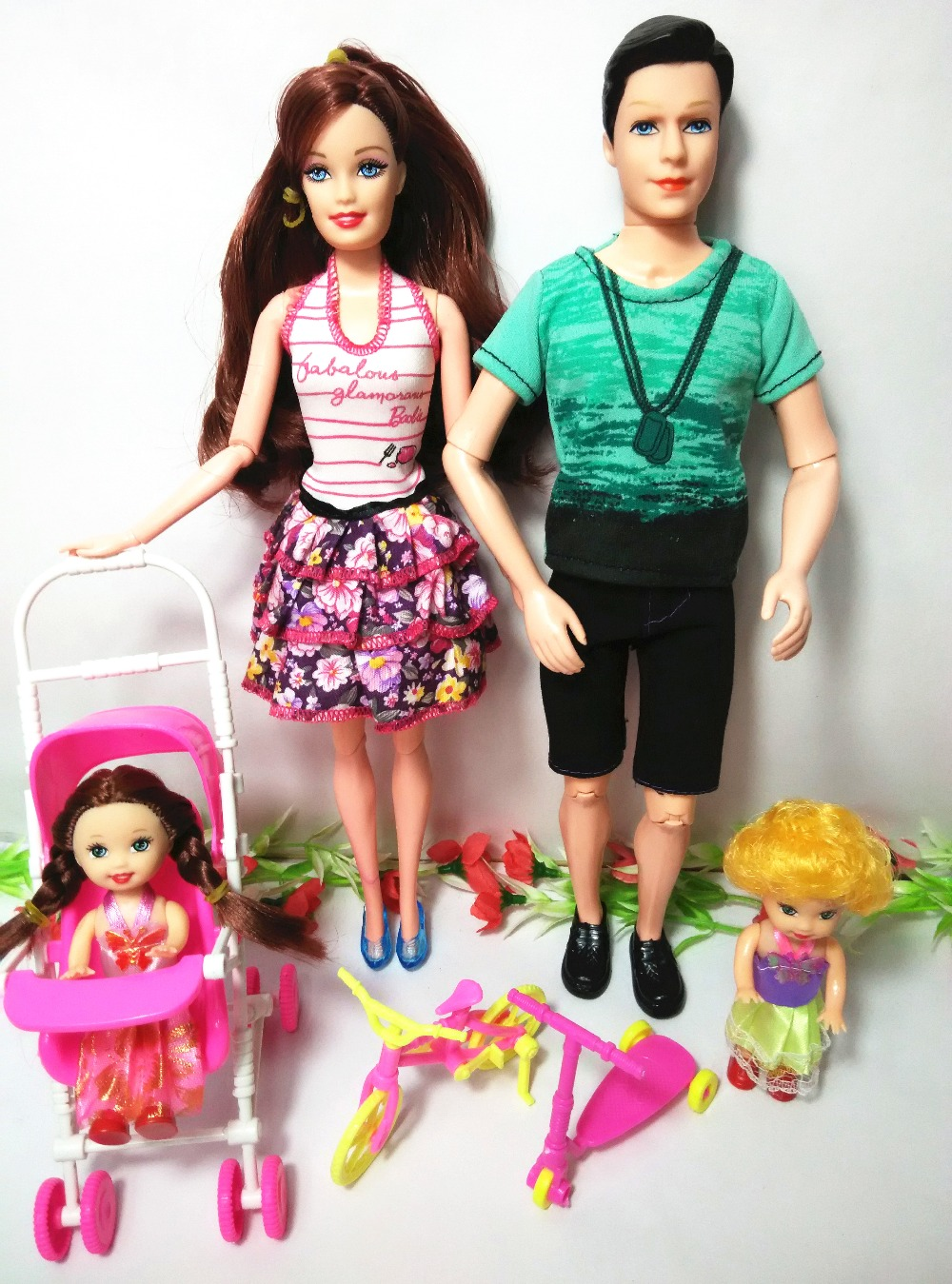 Free Transport,Greatest Woman Present Birthday Present 2016 New Style Doll With Garments and Footwear,Equipment For Barbie Doll