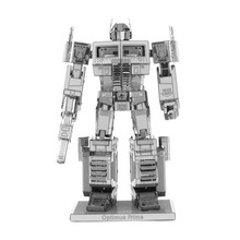 2017 3D Metal Puzzle Model DIY Robot Scale Buliding Model For Adult Jigsaw Puzzle For Children Toys