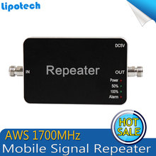 Mini Size For AWS 1700Mhz Repeater Mobile Phone 4G for T-Mobile Signal Booster Cell Phone Signal Repeater Amplifier