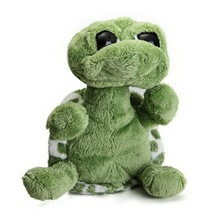 2016 New Arrive 20cm Green Big Eyes Stuffed Tortoise Turtle Plush Toy Turtle Doll Kids As Birthday Christmas Gift(China)