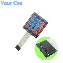 10 pcs High Quality 4x4 Matrix Array 16 Key Membrane Switch Keypad Keyboard Control Panel Microprocessor Keyboard for Arduino