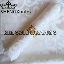 100PCS Sale Design Jacquard Damask Table Napkin For Wedding Decoration(China)