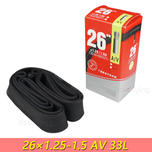 High Quality Durable Schrader Valve Bicycle Tires Replaceable Bike Cycle Inner Rubber Tube 26 inch 1.25 1.5 1.35 1.3 Butyl AV