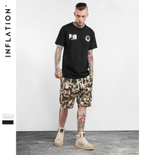 INFLATION 2017 Latest  T Shirts Men New Spring Summer Cartoon Tees O neck