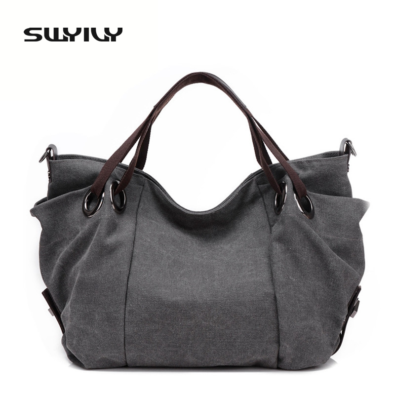 2017 New Autumn Canvas Solid Color Big Capacity Gym Bag For Men And Women Fitness Sports Shoulder Bag Traveling Storage Bag
