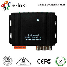 8Ch CCTV Active UTP Video Balun Transmission Distance 1500 meters
