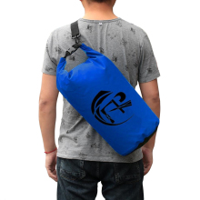 Outdoor PVC Waterproof Dry Sack Storage Bag Rafting Sports Kayaking Canoeing Swimming Bag Travel Kits 10L 20L Drop Shipping(China)