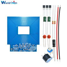 Free Shipping Diy Simple Metal Detector Metal Locator Kit DC 3V-5V Electronic Metal Sensor Module Induction Suite