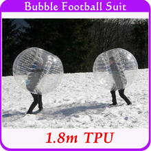 High Quality Sports Games For Teams 1.8m TPU For Tall People Adults Inflatable Bubble Bumper Ball Body Suit Wholesale Big Size