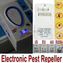 Brand New Ultrasonic Electronic Rodent Pest Rat Bug Control Repeller +without retail box