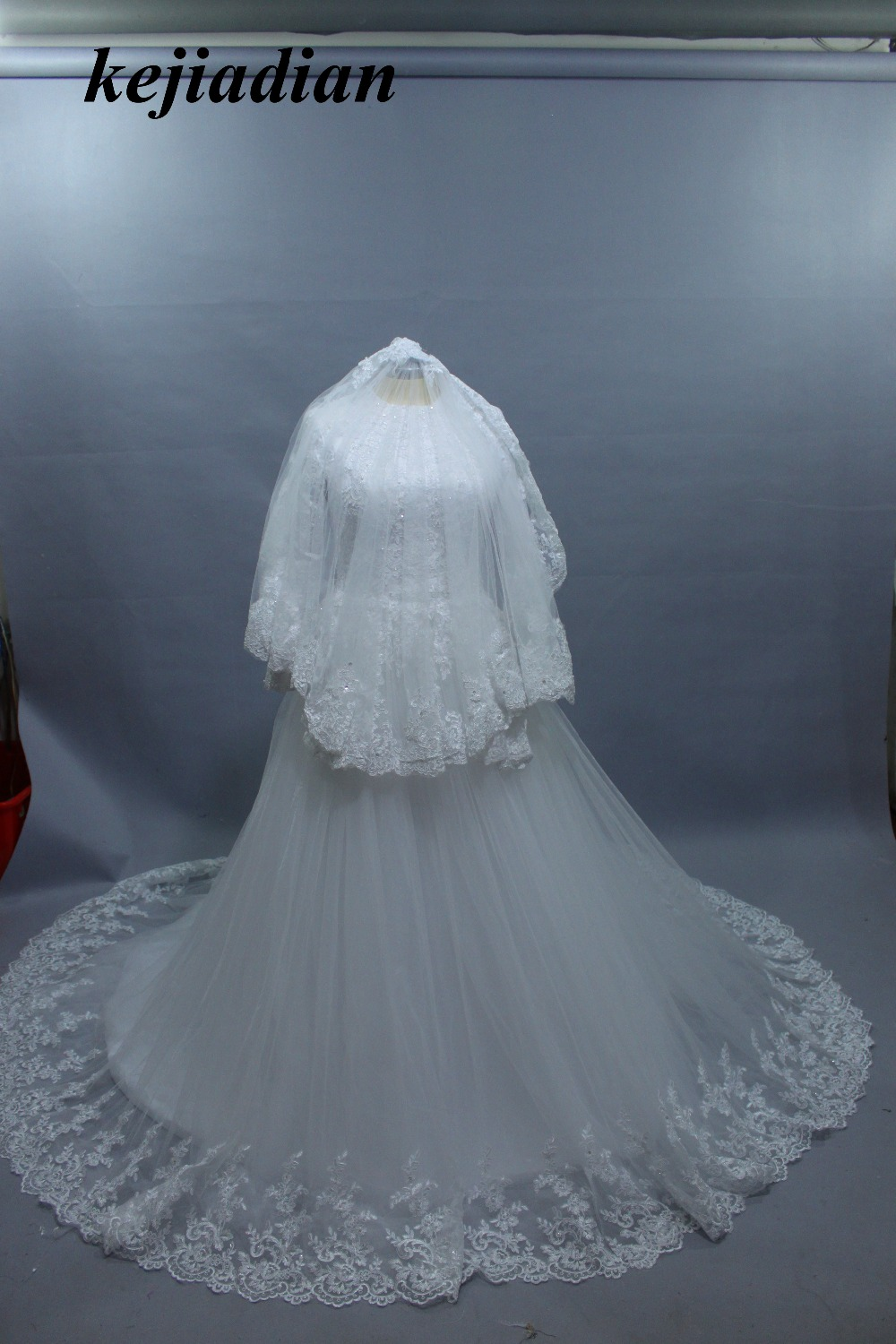 Buy islamic muslim wedding dresses and get free shipping on ...