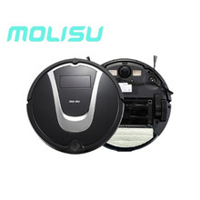 MOLISU A6 Robot Vacuum Cleaner Mop home floor , 2017 new A6 house sweeping cleaning, free shipping(China)