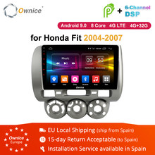 Ownice K1 K2 K3 K5 K6 Android 9.0 Radio Car GPS Navigation Multimedia Player For Honda Fit Jazz 2004 2005 2006 2007 Support 4G(China)