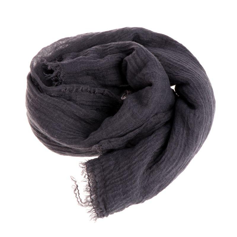 Women Crinkle Cloud Hijab Scarf Shawl Muslim Long Shawl Stole Wrap 11