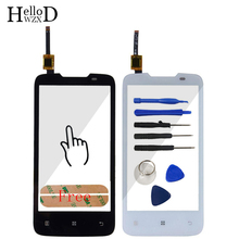 "4.5"" Touch Screen Front Glass For Lenovo A820 Touch Screen Digitizer Panel Front Outer Glass Lens Sensor Adhesive Free Shipping"