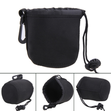 Universal Neoprene Water-resistant neopren Soft Pouch Bag Case for Video Camera Lens