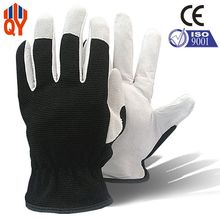 Free Shipping Good Quality Pigskin Leather Safety Mens Work Gloves