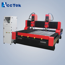 4*8 feet 1325 3D stone cnc engraving machine stone cnc router 4 axis rotary 4th axis cnc router