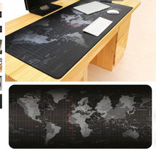 80*30CM Tappetino Mous World Map Large Gaming Mouse Pad Locked Edge Mousepad Mouse Mat For Razer Overwatch Tapis De Souris(China)