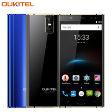 "Original Oukitel K3 Cell Phone 5.5"" Dual 2.5D Screen 4GB RAM 64GB ROM MT6750T Octa Core 6000mAh 4 Cameras Fingerprint Smartphone"