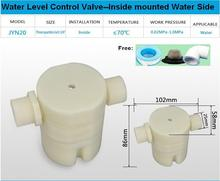 "Free shipping 3/4"" side inlet Built-in/Inside Mounted Automatic Float Valve Water Level Control Valve For Solar Water Tank Pool"