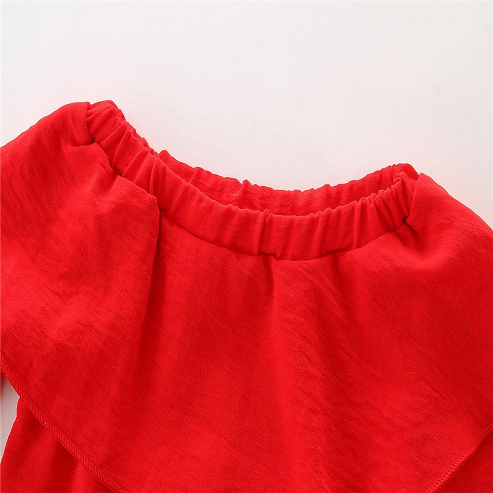 1-7Y En Bas Âge Enfant Bébé Fille Vêtements Coton À Manches Longues O-cou T-shirt Tops Floral Denim Jeans Pantalon 2 pcs Ensemble Bébé vêtements Outfit 4