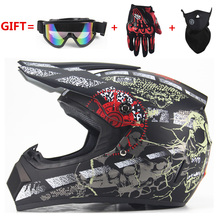 NEW Off Road motorcycle Adult motocross Helmet ATV Dirt bike Downhill MTB DH racing helmet cross Helmet capacetes DOT moto(China)